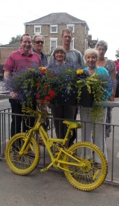 The Fulford in Bloom group celebrates the outstanding result
